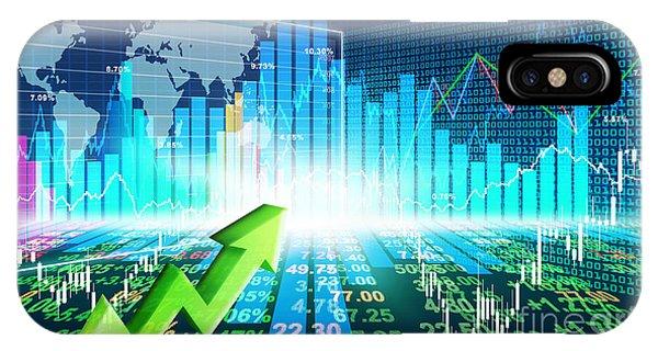 Stock Market Concept IPhone Case