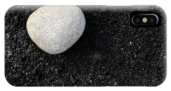 Stone In Soot IPhone Case