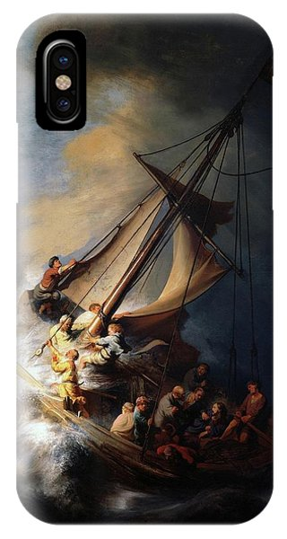 Storm On The Sea Of Galilee IPhone Case