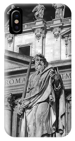 St.peter Statue At The Vatican IPhone Case
