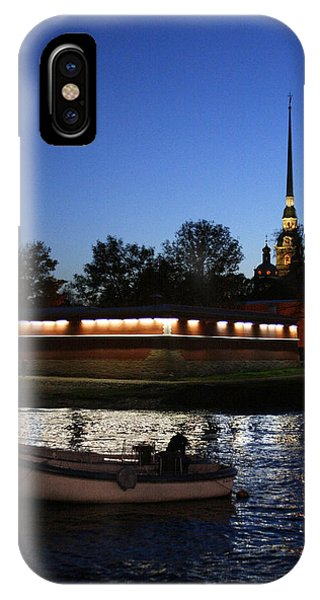 St.petersburg At Night IPhone Case