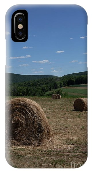Straw Bales IPhone Case