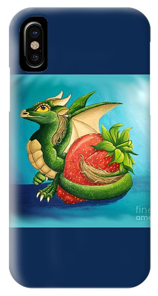 Strawberry Dragon IPhone Case