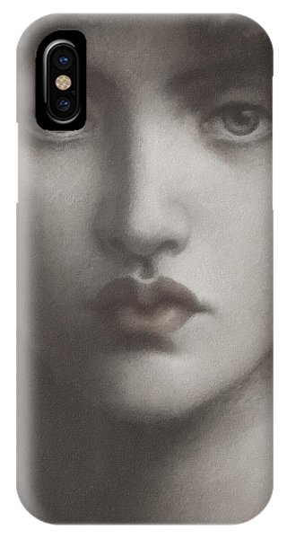 Study Of Jane Morris IPhone Case