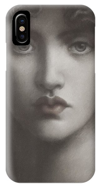 Study Of Jane Morris IPhone Case