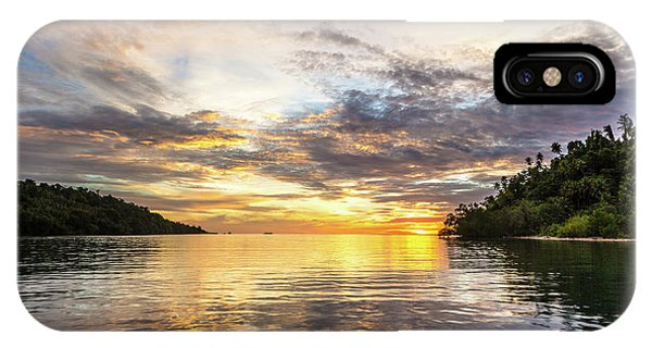 Stunning Sunset In The Togian Islands In Sulawesi IPhone Case