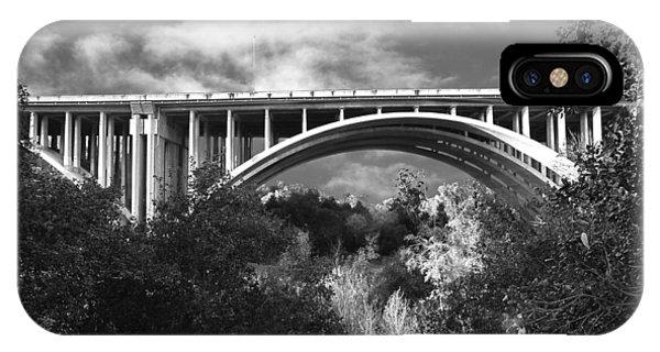 Suicide Bridge Bw IPhone Case