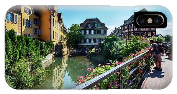 IPhone Case featuring the photograph summer panorama in Colmar, named  by Ariadna De Raadt