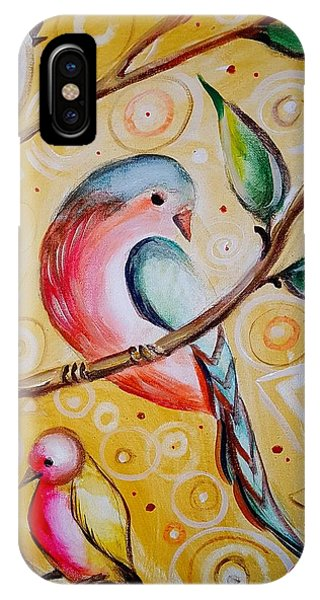 Sunshine Birds IPhone Case