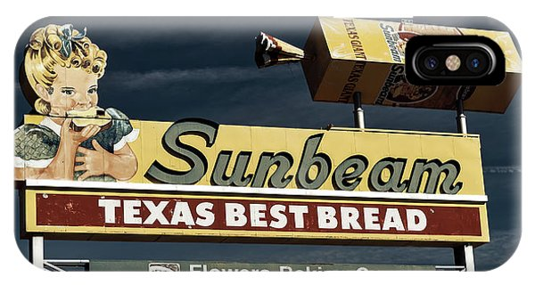 Sunbeam - Texas Best Bread IPhone Case