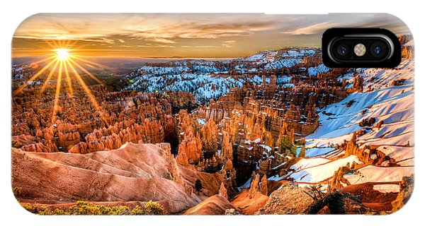 Sunrise At Bryce IPhone Case