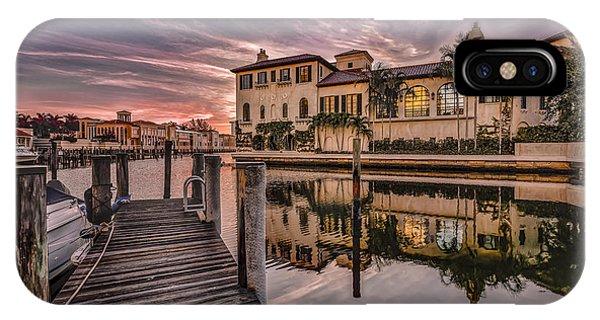 Sunrise At Naples, Florida IPhone Case