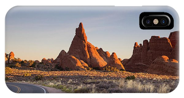 Sunrise In Arches National Park IPhone Case