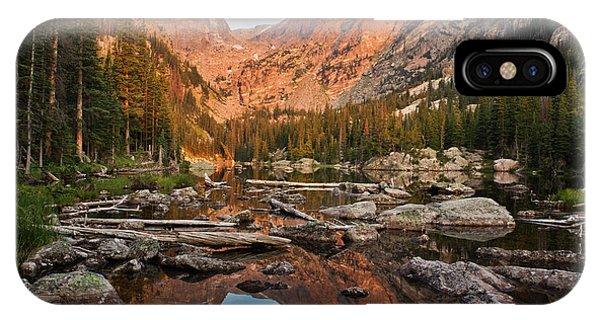 Dream Lake Sunrise IPhone Case