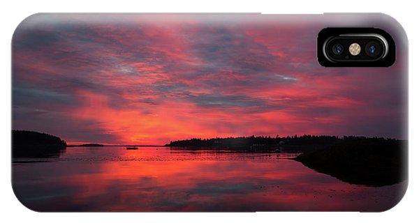 Sunrise Reflection IPhone Case