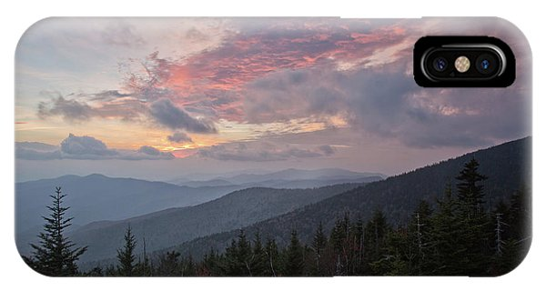 Sunset At Clingman's Dome IPhone Case