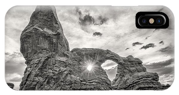 Sunset At Turret Arch IPhone Case
