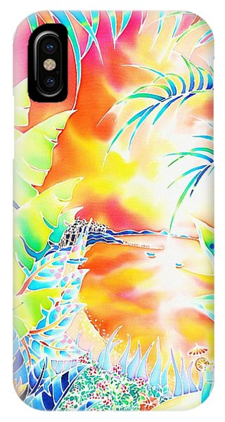 Sunset Cocktail IPhone Case