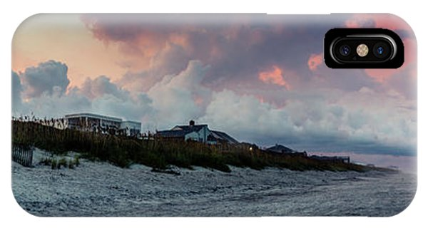 Sunset Emerald Isle Crystal Coast IPhone Case