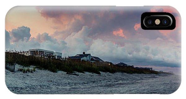 Sunset Emerald Isle Crystal Coast IPhone Case