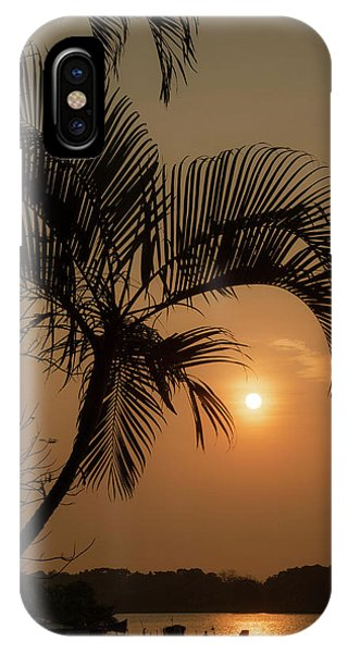 sunset Huong river IPhone Case