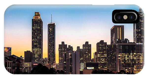 Sunset In Atlanta  IPhone Case