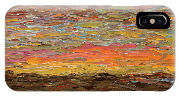 Dusk iPhone Case - Sunset by James W Johnson