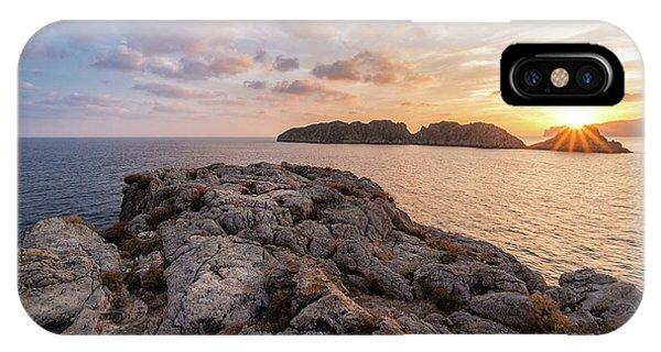 Sunset Malgrats Islands IPhone Case