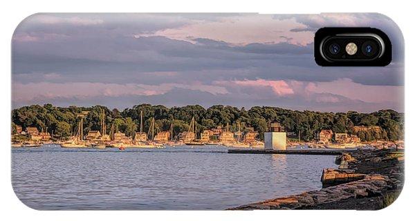 Sunset On Salem Harbor IPhone Case