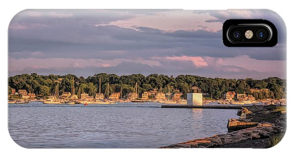 Sunset On Salem Harbor IPhone Case