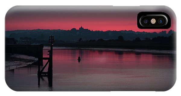 Sunset On The River IPhone Case