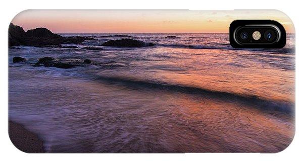 Sunset Over Laguna Beach   IPhone Case