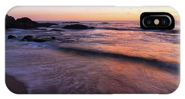 Sunset Over Laguna Beach   IPhone Case