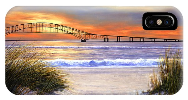 Sunset Over Robert Moses IPhone Case