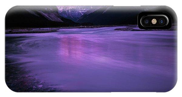 Sunwapta River IPhone Case