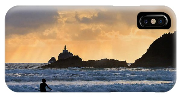 Surf iPhone Case - Surfs Up by Mike  Dawson