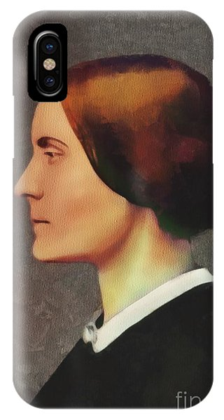 Equal Rights iPhone Case - Susan B. Anthony, Suffragette by Mary Bassett