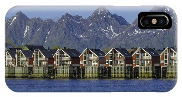 Svolvaer Norway IPhone Case