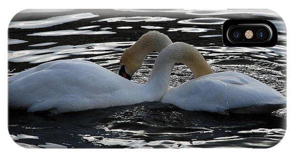 Swan IPhone Case