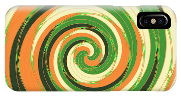 Autumn iPhone X Case - Swirl by Gaspar Avila