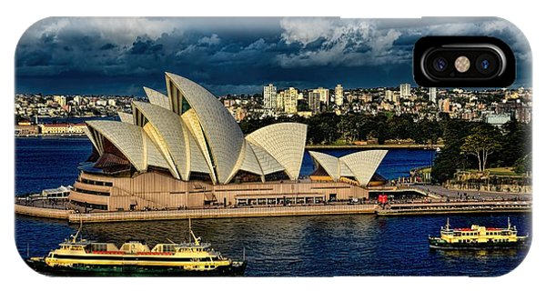 Sydney Opera House Australia IPhone Case