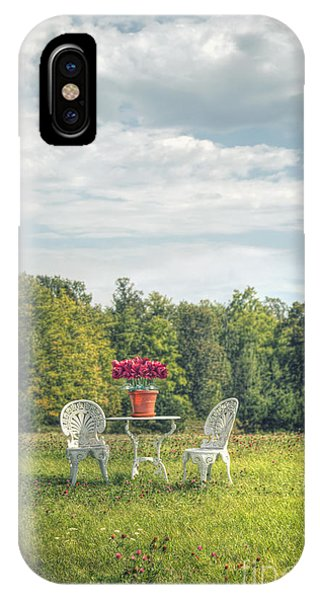 iPhone Case - Table For Two by Margie Hurwich