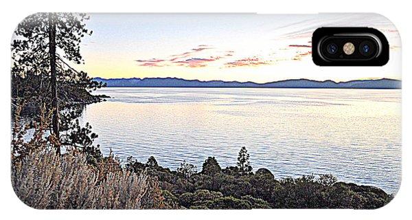 Tahoe Shoreline IPhone Case