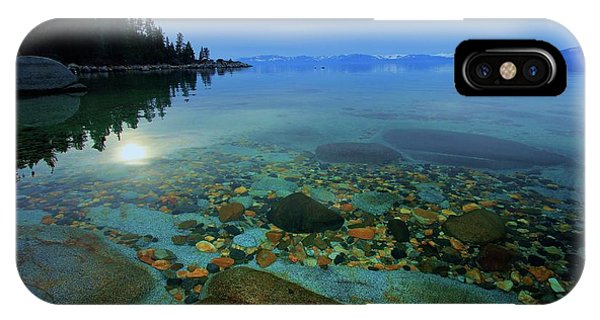 IPhone Case featuring the photograph Tahoe Twilight by Sean Sarsfield