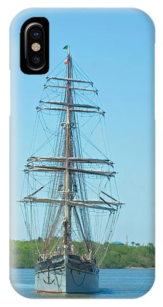 Tall Ship Elissa IPhone Case
