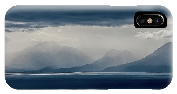 Tallac Stormclouds IPhone Case