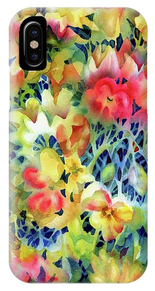 Tangled Blooms IPhone Case