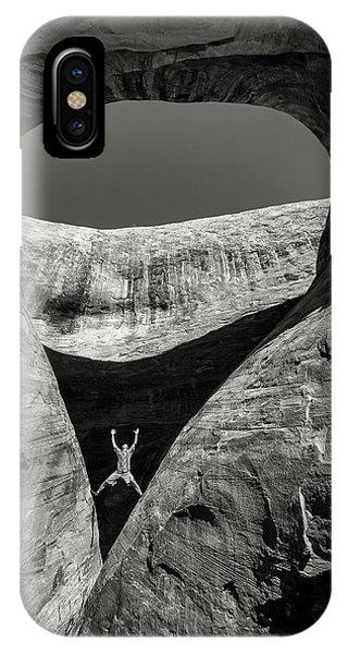 Teardrop Arch IPhone Case