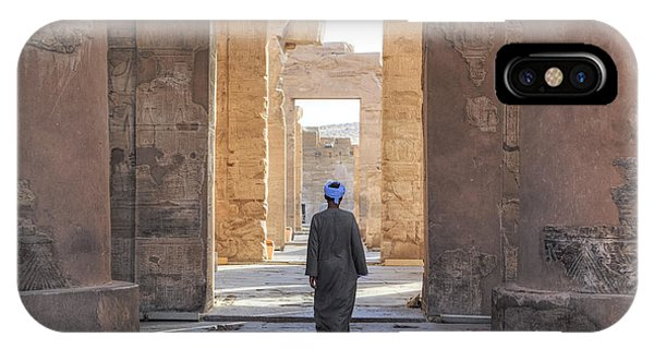 Er iPhone Case - Temple Of Kom Ombo - Egypt by Joana Kruse