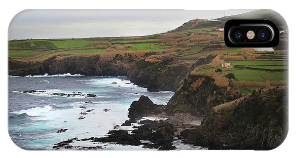 IPhone Case featuring the photograph Terceira Coastline by Kelly Hazel